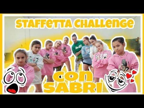 CON LA SABRI UNA  STAFFETTA CHALLENGE!! ginnastica artistica CSB