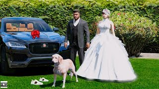 GTA 5 REAL LIFE MOD SS3 #21 WEDDING PRESENT FROM TREVOR