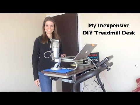 Treadmill Desk Diy