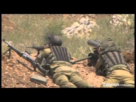 Israeli forces fire
