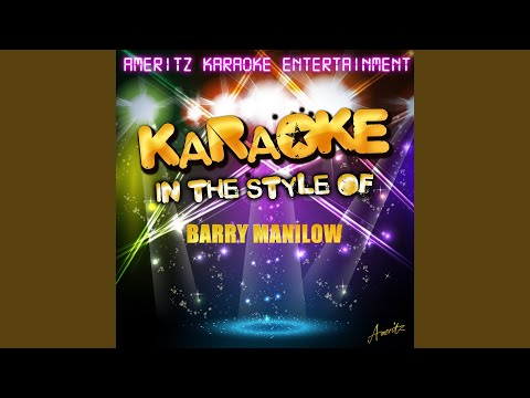 Sincerely/Teach Me Tonight (In The Style Of Barry Manilow) (Karaoke Version)