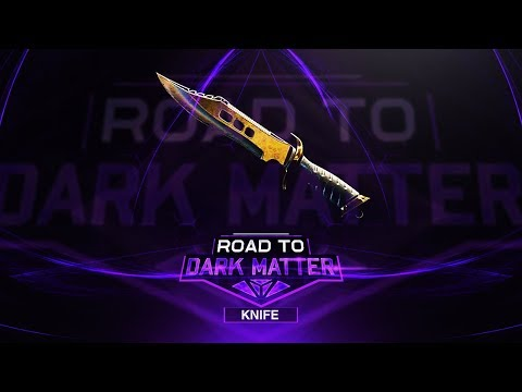 FaZe Pamaj - Road to Dark Matter (Finale) - Knife (DARK MATTER UNLOCKED)