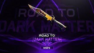 FaZe Pamaj - Road to Dark Matter (Finale) - Knife (DARK MATTER UNLOCKED)