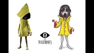 Little Nightmares As Granny And Slendrina Characters