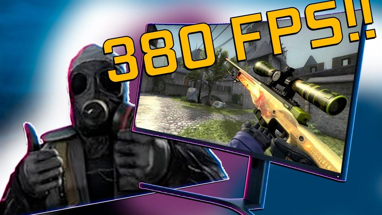 MELHOR PC PARA RODAR CS GO - 380FPS