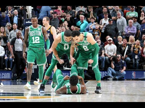 The Celtics Lead The League In Being CLUTCH (VIDEO)