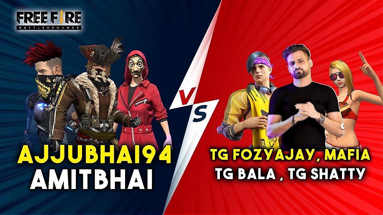 AJJUBHAI, AMITBHAI VS TOTAL GAMING ESPORTS MUST WATCH CLASH SQUAD GAMEPLAY #15 | GARENA FREE FIRE