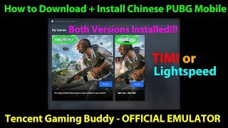 Gambar cover How to Download and Install Chinese PUBG Mobile on Tencent Gaming Buddy - Official Emulator