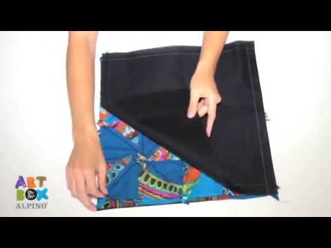 Tutoriel sac main patchwork artbox alpino youtube - Modele sac a main a faire soi meme ...