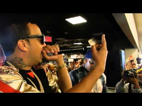 """French Montana @ Best Buy Union Square 5/21/2013 """"Pop That"""" """"Ain't Worried About Nothing"""""""