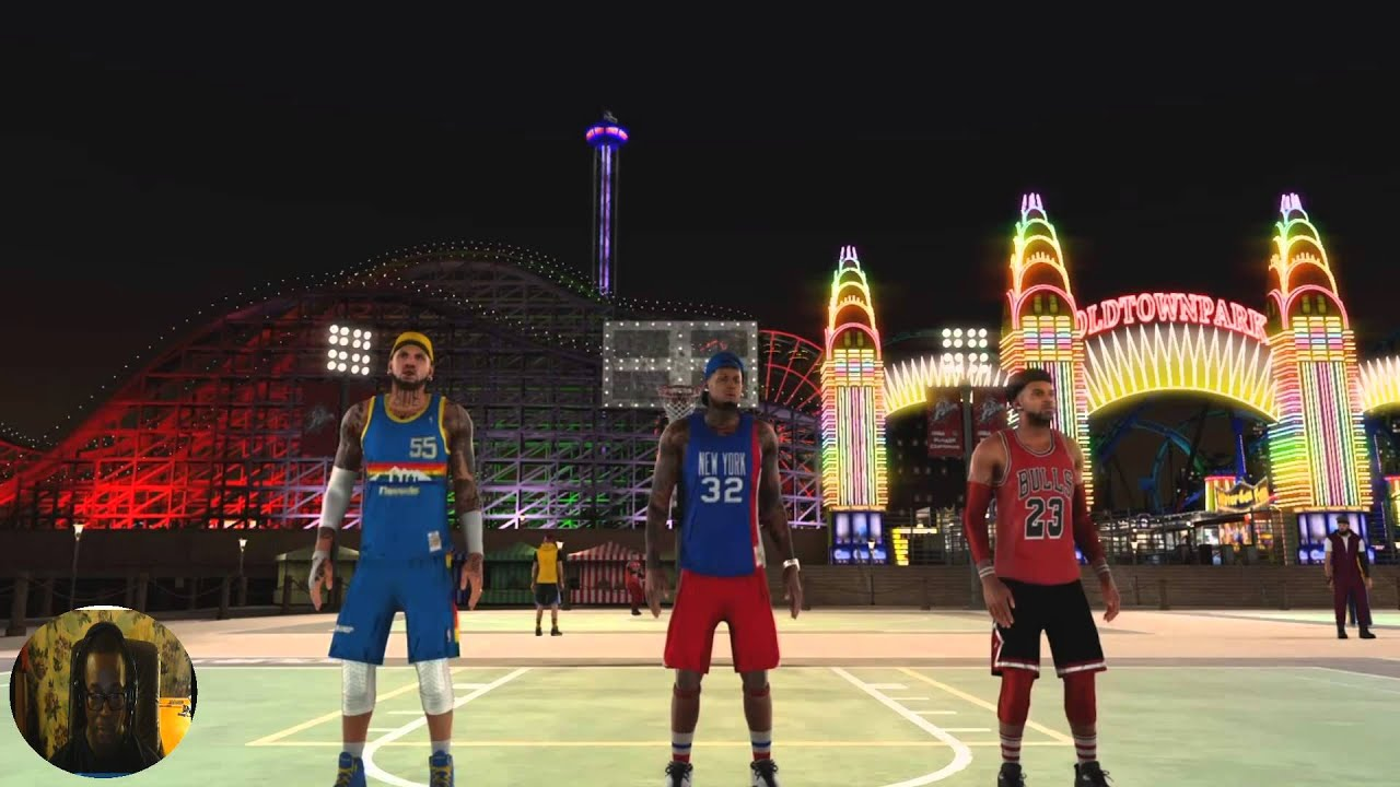 Nba 2k16 Ps4 - Park Town Flyers Part 2 Stats