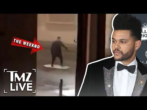 The Weeknd's Coachella Surprise | TMZ Live