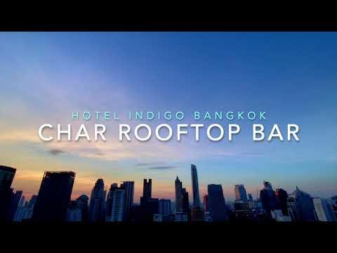 Char Rooftop Bar at Indigo Hotel Bangkok