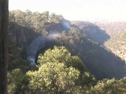 Steam through Glenbrook Gap, NSW, 2007
