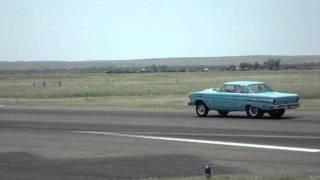 """Big Stick"" vs. ""Fast Eddie"" @ Julesburg Dragstrip July 2011"