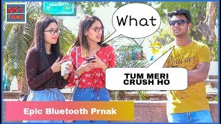 Epic Bluetooth Prank Part 2  RomanticTalk Flirting With Girls |AKY FILMS |
