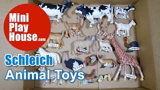 Unboxing Schleich Animal Toys