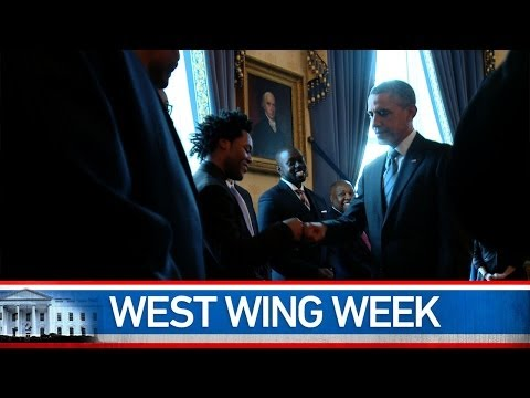 "West Wing Week 1/10/14 or, ""A Year of Action"""