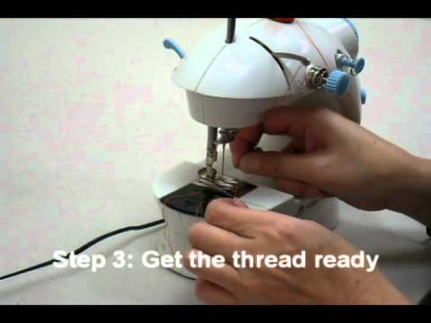 LSS40 Sewing Machine Quick Start Guide YouTube Fascinating Dressmaker Mini Sewing Machine Instructions