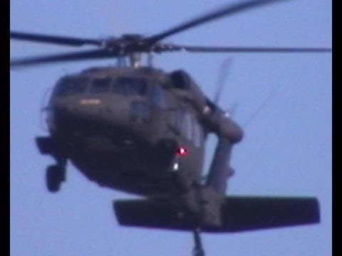 Helicopters Black Hawk Osama Bin Laden Advanced Stealth Attack Amazing Maneuver , AH-64 Apache Huey