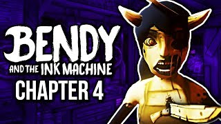 THE END OF ALICE ANGEL! | Bendy And The Ink Machine | Chapter 4 (Full Episode)