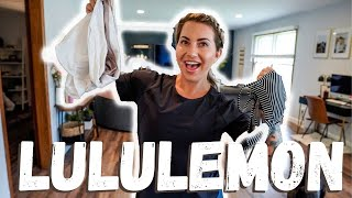 Lululemon Summer Workout Clothing Haul!