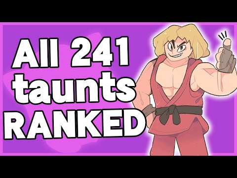 Ranking EVERY taunt in Super Smash Bros. Ultimate