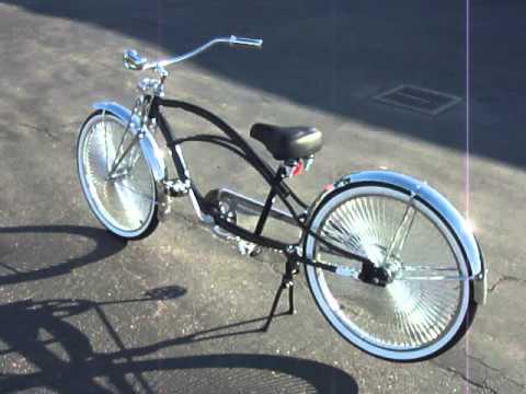 Superwheel Stretch Black Cruiser Bicycle Youtube
