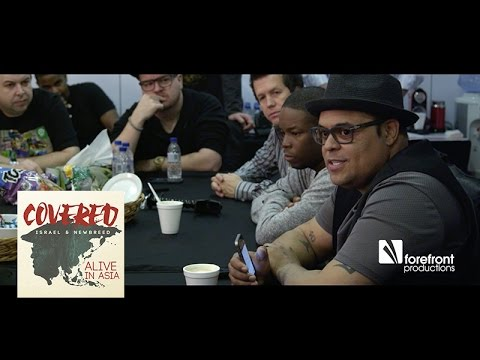 Behind the scenes - Israel Houghton & New Breed - Covered: Alive in Asia