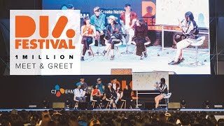 1MILLION / DIA Festival 2016 Meet and Greet