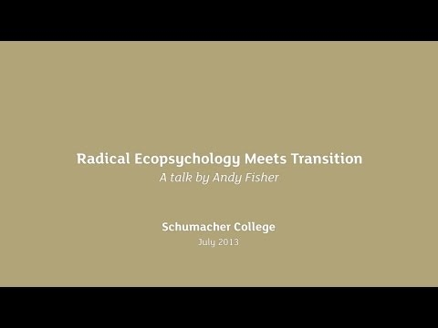 Andy Fisher - Radical Ecopsychology