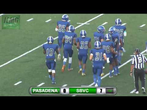 LIVE FOOTBALL! Pasadena City vs. SBVC (9-9-17) @ City of San Bernardino, CA.