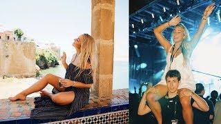 morocco vlog day 3 |  rabat: concerts, food, & sweet people!
