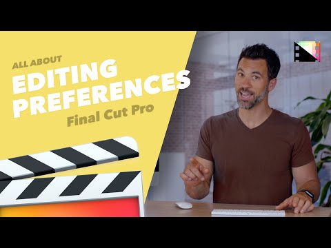 How to Change Editing Preferences in Final Cut Pro X