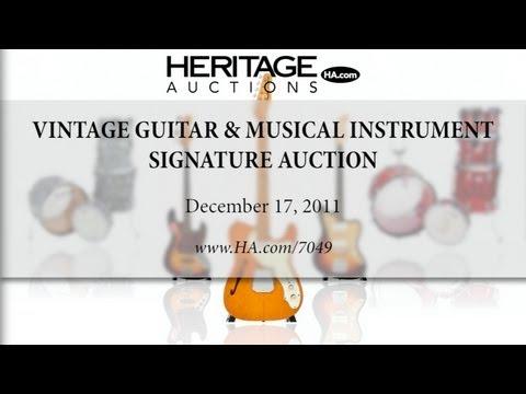 Heritage Auctions (HA.com) - 2011 December Vintage Guitars & Musical Instruments Auction #7049
