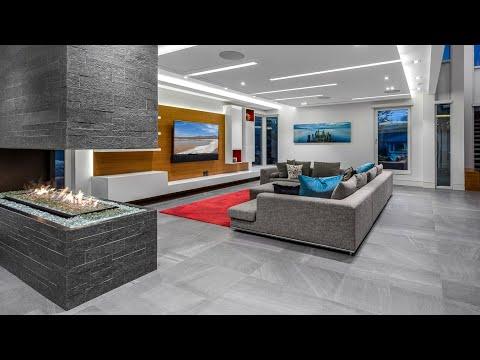 Award-Winning Custom-Built   Contemporary Interior Design in Entertainer's Dream Home   House Tour