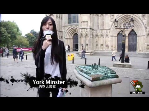 Magic York, the travel tour guide made by student in University of Liverpool,