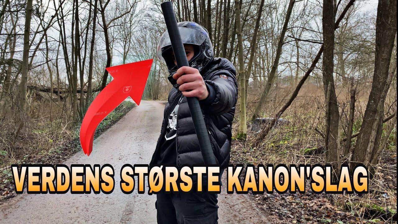 LAVER VERDENS STØRSTE KANON-SLAG// KÆMPE FAIL