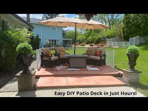 udecx modular patio deck superior to