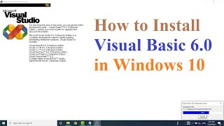 How to Install Visual Basic 6.…