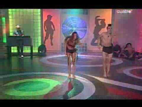 Coreografía Virginia Y Wiki Comercial Dance Fama a Bailar! Viernes 30 de Octubre de 2009