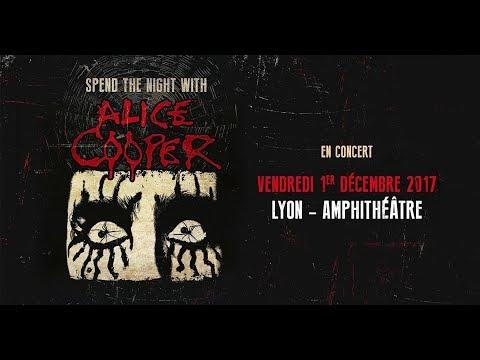 Alice Cooper - Lyon - 01/12/2017