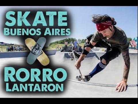 SKATE BUENOS AIRES con RORRO LANTARON