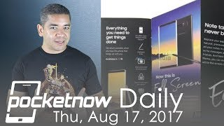 Samsung Galaxy Note 8 leaked brochure, LG V30 final renders & more - Pocketnow Daily