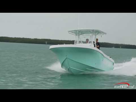 Dusky 278 Open Fisherman (2018-) Test Video - By BoatTEST.com