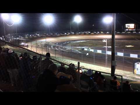 Tim McCreadie Qualifying at Green Valley Speedway 2012 Bama Bash