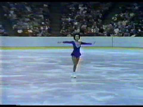 Emi Watanabe 渡部 絵美 (JPN) - 1980 Lake Placid, Ladies' Long Program