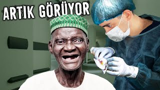 UNBLINDING SOMEONE AFTER 30 YEARS - CATARACT SURGERY IN AFRICA
