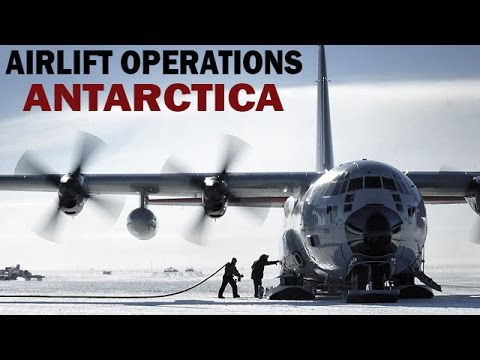 US Air Force Airlift Ops in Antarctica | Documentary Film | 1961