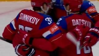 Россия - Дания 10:1 Хоккей РАЗГРОМ на ЧМ 2016 Все Голы HD